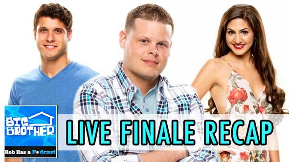 Big Brother 2014: LIVE Recap of the BB16 Finale and Winner Reaction on Wednesday, September 24th - Will Derrick, Cody or Victoria become the newest winner?