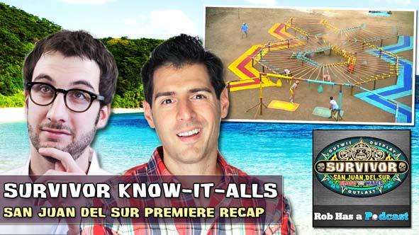 Survivor 2014: The Know-It-Alls Recap the Survivor San Juan del Sur Season Premiere