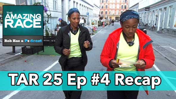 Amazing Race 2014: Episode 4 Recap of The Amazing Race 25 LIVE at 9:15 pm ET on Friday, October 17, 2014
