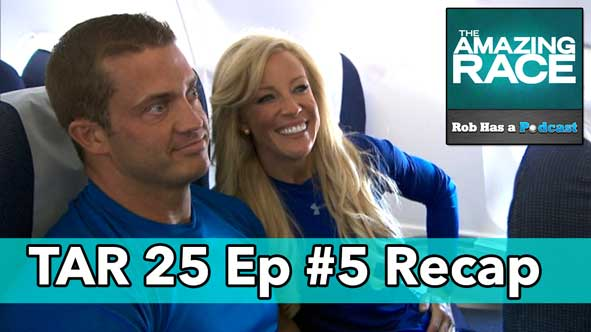 Amazing Race 2014: Recap of Episode 5 of Amazing Race 25 LIVE on Friday, October 24th, 2014
