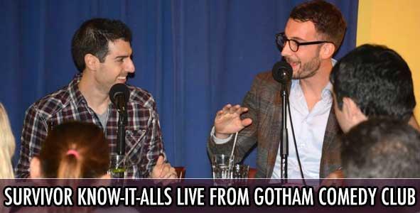 Survivor 2014: The Survivor Know-It-Alls LIVE From Gotham Comedy Club