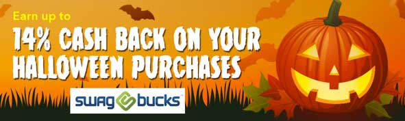 Get up to 14% Cash Back on Halloween Costumes from Select Retailers by signing up for Swagbucks at Swagbucks.com/RHAP