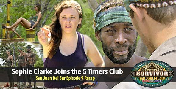 Survivor 2014: Rob Interviews Sophie Clarke to Recap San Juan Del Sur Episode 9