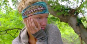 Jaclyn was not happy with the poor treatment from the guys at camp.