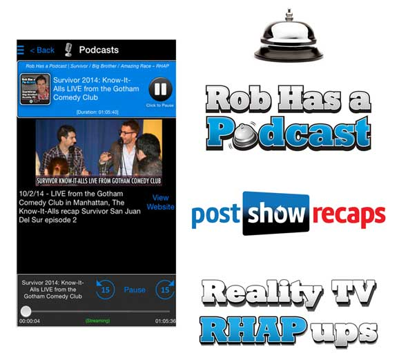 Get the Rob Has a Podcast App