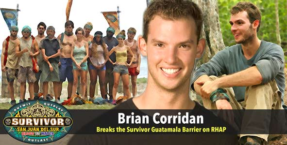 Survivor 2014: Brian Corridan talks Survivor Guatamala on the podcast for the first time on RHAP