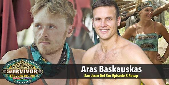 Survivor 2014: Aras Baskauskas joins Rob for the Survivor San Juan Del Sur Episode 8 Recap