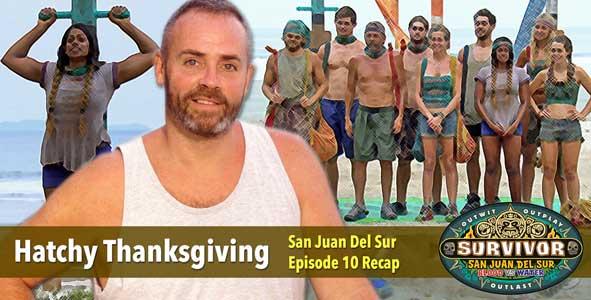 Survivor 2014: Richard Hatch recaps Survivor San Juan Del Sur Episode 10 on Thanksgiving Weekend
