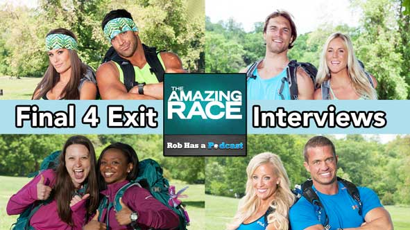 Amazing Race 2014: Rob & Jessica Liese have interviews with the Final 4 Amazing Race Teams