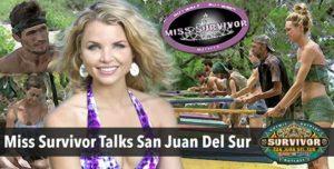 Survivor 2014: Our own Miss Survivor, Andrea Boehlke, Gives Her Take on San Juan Del Sur