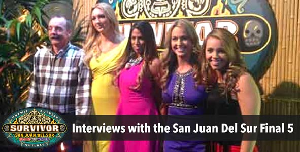 Survivor 2014: Interviews with the Winner and Final 5 of San Juan Del Sur