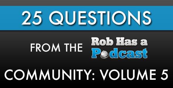 25 Questions From the RHAP Community: Volume 5