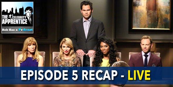 Celebrity Apprentice 2015: Episode 5 Recap LIVE on January 26, 2015