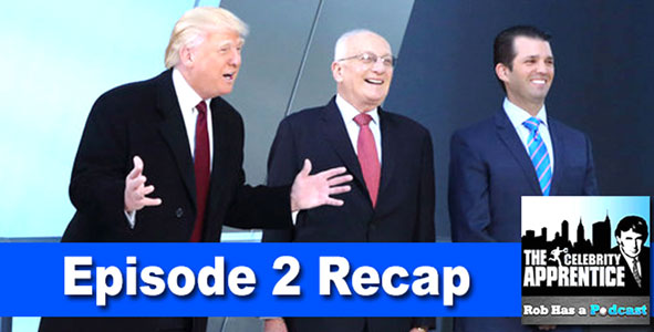 Celebrity Apprentice 2015: Recap of Episode 2 of the Celebrity Apprentice on January 5th