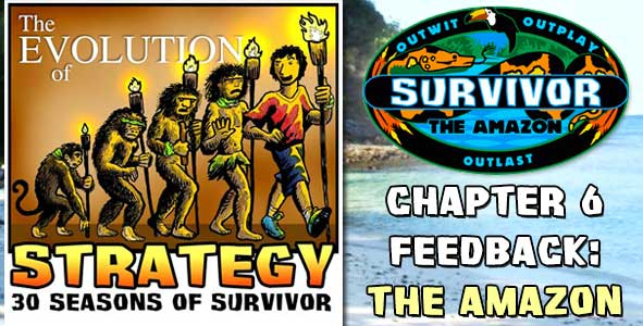 Comments and Feeback from Chapter 5 of The Evolution of Strategy Covering Survivor: Thailand