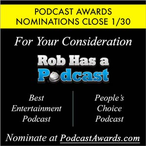 Nominate RHAP at this year's Podcast Awards