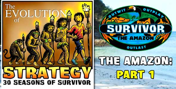 Rob's First 3 Survivor Days: The Amazon Chapter of 'Evolution of Strategy' Preview