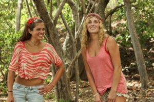 Jenn easily made bonds on her laid-back tribe.