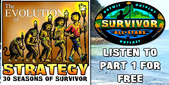 Hear the first part 1 of the Survivor All-Stars Chapter of TEOS for FREE