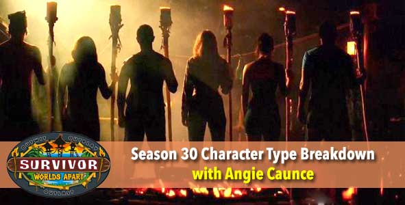Survivor 2015: Angie Caunce reveals her Character Types for Survivor Worlds Apart
