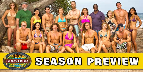 Survivor 2015: Rob Cesternino and Nicole preview the 18 new players on Survivor: Worlds Apart