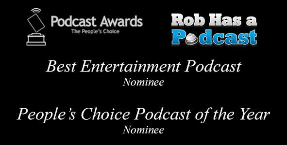 RHAP is nominated for the Best Entertainment Podcast and People's Choice Podcast of the Year