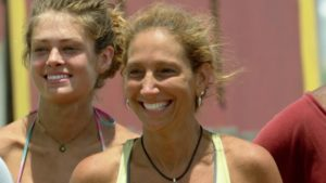 Carolyn was all smiles this week after the challenge wins.