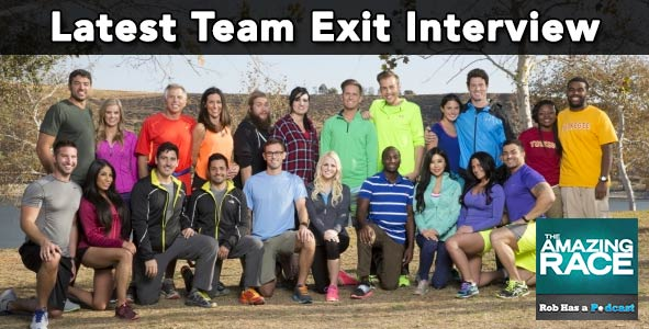 Amazing Race 2015: Talking with the Latest Team Eliminated from Amazing Race 26