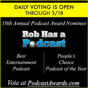 Vote RHAP at This Year's Podcast Awards for Best Entertainment Podcast and People's Choice Podcast of the Year
