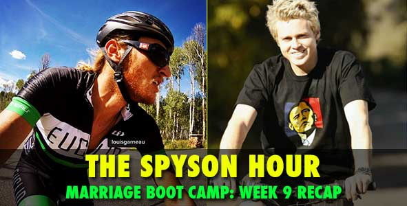 Spyson Hour:  Tyson and Spencer recap Marriage Boot Camp Episode 9