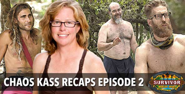 Survivor 2015: Rob Cesternino with Chaos Kass McQuillen on the Survivor Worlds Apart Episode 2 Recap