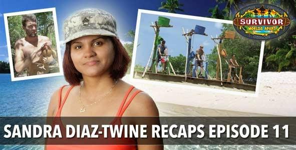 Survivor 2015: Sandra Diaz-Twine Recaps Episode 11 of Worlds Apart