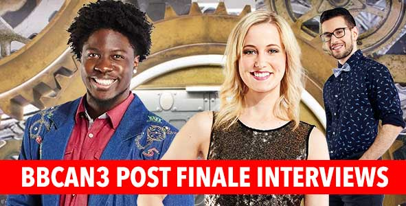 Big Brother Canada 2015: Post Finale Interviews with Godfrey, Ashleigh and Jordan