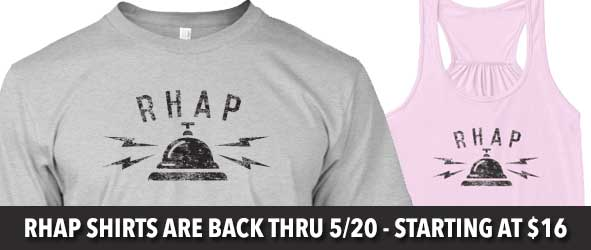 The RHAP Shirts are back for a limited time.  $1 from each shirt will be donated to AUTISM SPEAKS.