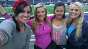 Amazing Race Rochelle, Laura, Jenny, Hayley