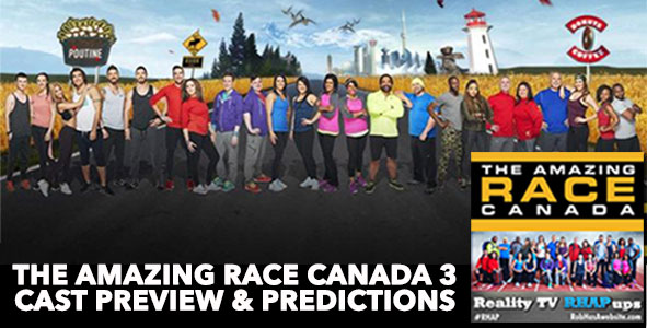 The Amazing Race Canada | Season 3 Cast Preview and Predictions