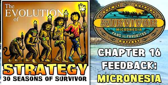 Comments and Feedback from Chapter 16 of The Evolution of Strategy Covering Survivor: Micronesia