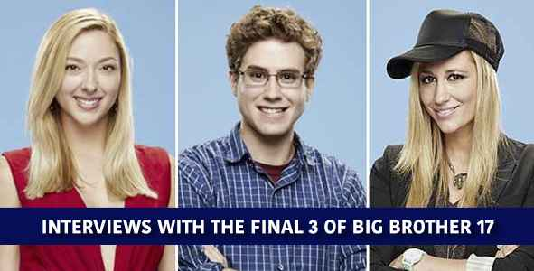 Big Brother 2015: Post Finale Interviews with The Big Brother 17 Final 3