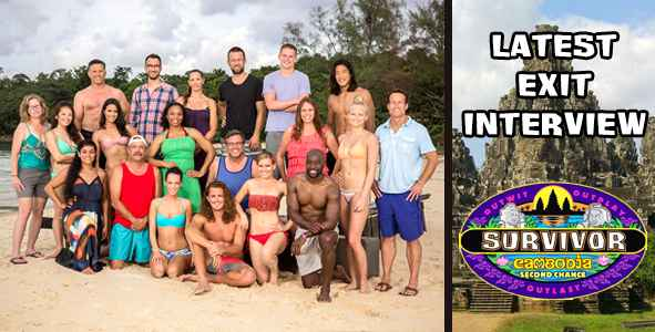 Survivor 2015: Exit Interview with the Latest Player Voted Out of Survivor Cambodia