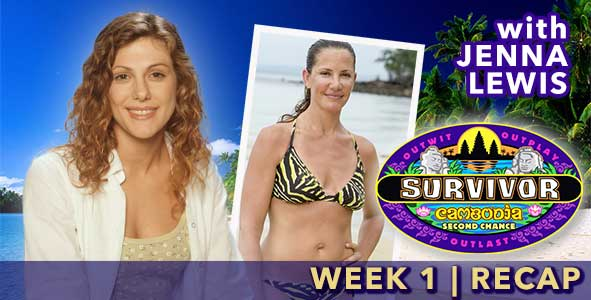 Survivor 2015: Jenna Lewis recaps the Survivor Cambodia premiere