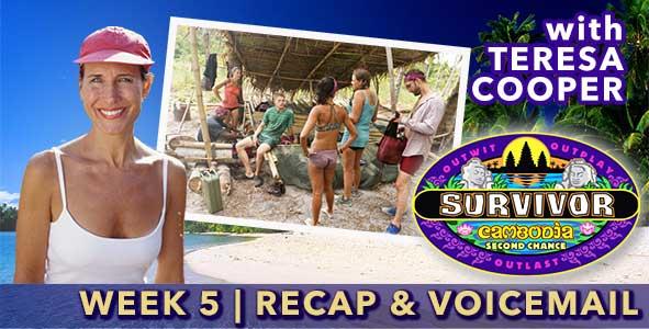 Survivor 2015: Teresa Cooper recaps Episode 5 of Survivor Cambodia