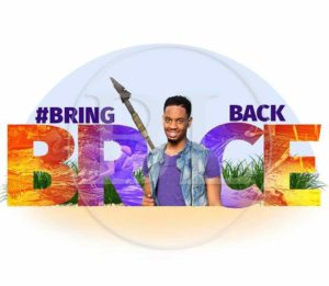 The Official Logo of the Bring Brice Back Movement