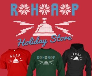 Carol of the Bells: The RHAP Shirts are Back