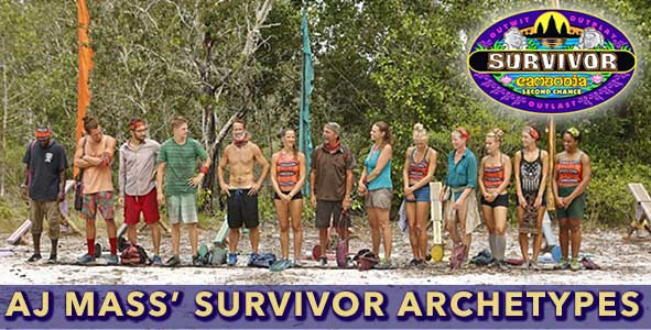Survivor 2015: AJ Mass on the 13 Archetypes of Survivor Second Chance