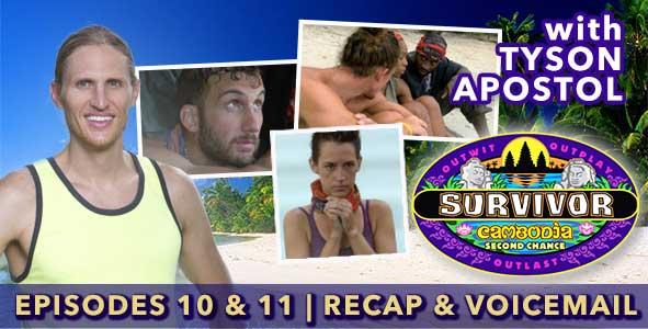 Survivor 2015: Tyson Apostol Recaps Episodes 10 & 11 of Survivor: Cambodia