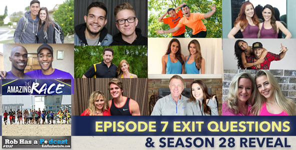 Amazing Race 2015 | Season 27 Exit Questions with 5th Team