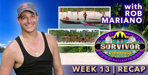 Survivor 2015: Boston Rob Mariano Recaps Episode 13 of Survivor: Cambodia