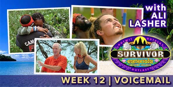 Survivor 2015: Episode 12 Voicemail Feedback with Ali Lasher