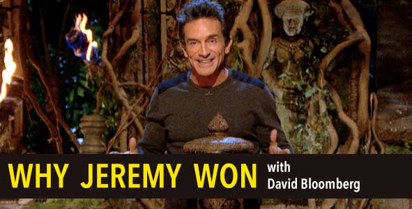 Survivor 2015:  Why Jeremy Won Survivor Cambodia