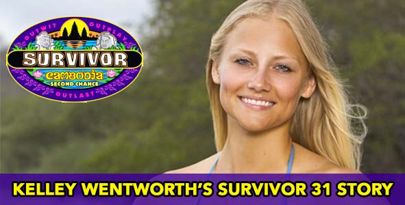 Catching up with Kelley Wentworth after Survivor Cambodia